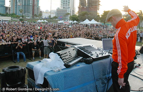 2007 Ultra Music Festival, photo by Robert Giordano