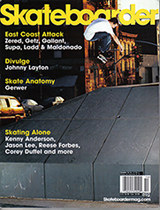 September 2004 Skateboarder Magazine