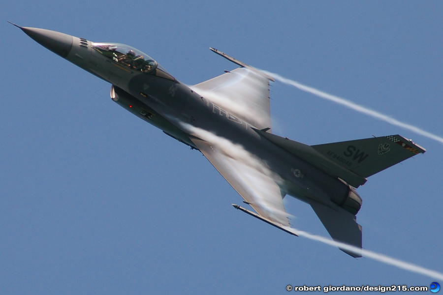 F-16 Approaches Sound Barrier - Fort Lauderdale, FL