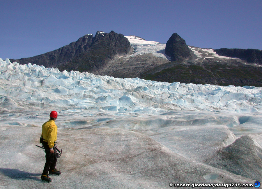 Travel Photography - Glacier Hiking in Alaska, photo by Robert Giordano