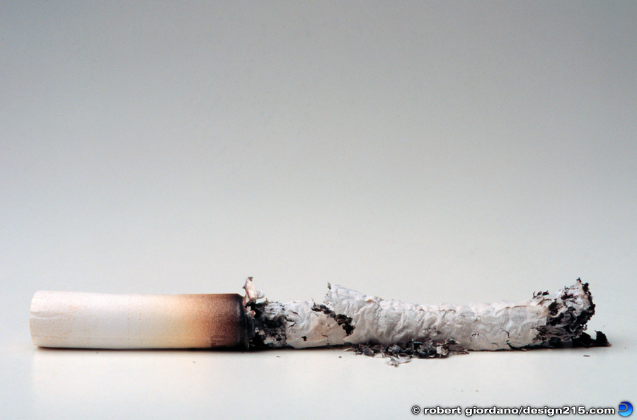 Conceptual Photography - Cigarette Ash, photo by Robert Giordano