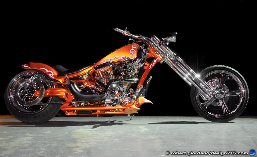 Custom Chopper - Product Photography