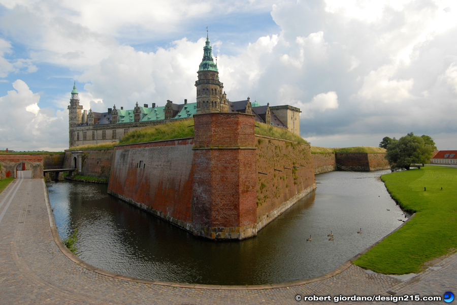 Travel Photography - Kronborg Castle, Denmark, photo by Robert Giordano