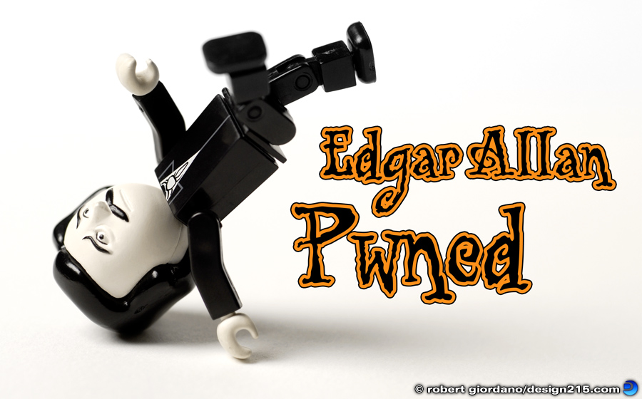 Edgar Allan Pwned - Conceptual Photography