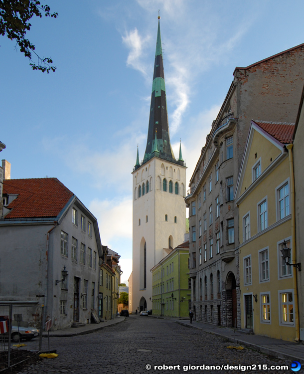 St. Olaf's Church, Tallinn, Estonia - Travel Photography