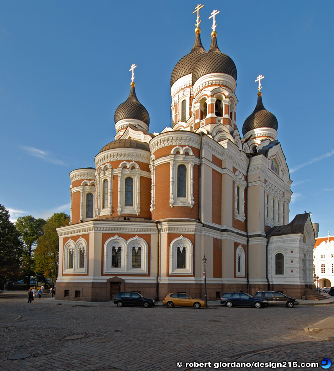 Travel Photography - Alexander Nevsky Cathedral, Tallinn, photo by Robert Giordano