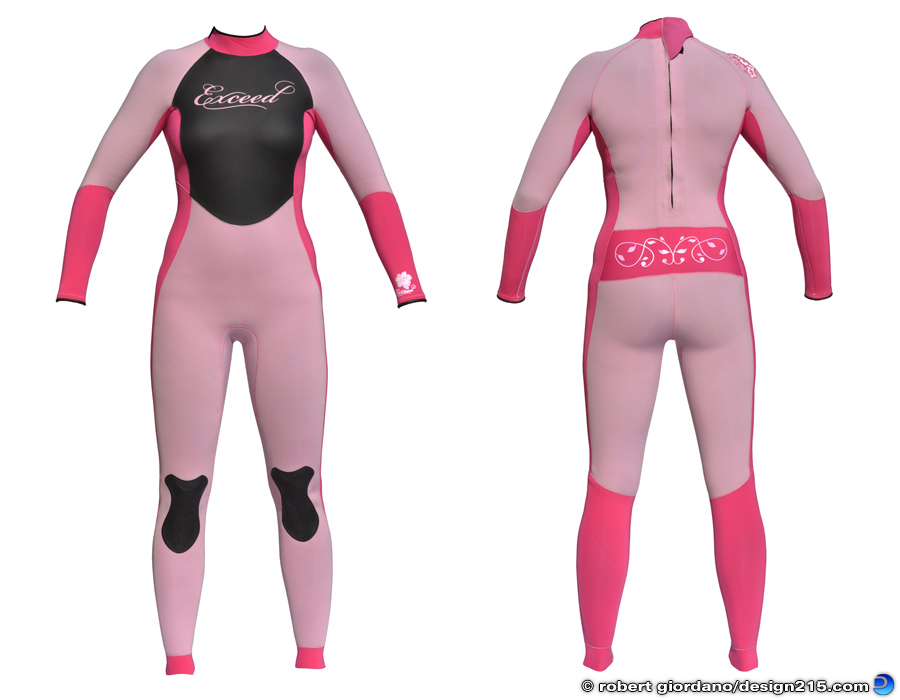 Product Photography - Exceed Eclectic Wetsuit, photo by Robert Giordano