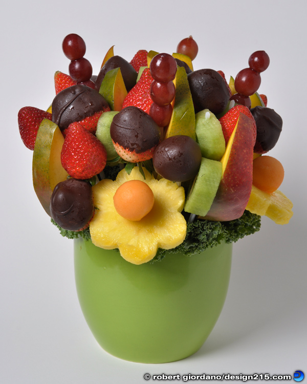 Food Photography - Fruit Basket Bouquet, photo by Robert Giordano