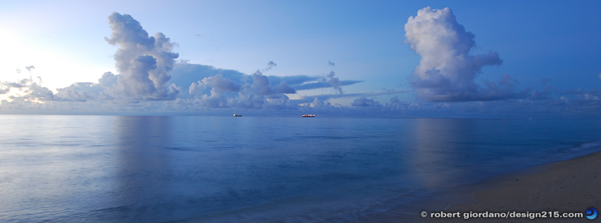 Fort Lauderdale Beach at Dawn - Facebook Cover Photos