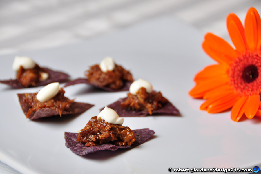 Hor d'oeuvres from A Posh Affair - Food Photography