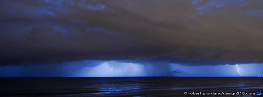 Free Facebook Cover Photos - Atlantic Lightning, photo by Robert Giordano