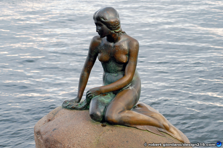 The Little Mermaid, Copenhagen - Travel Photography