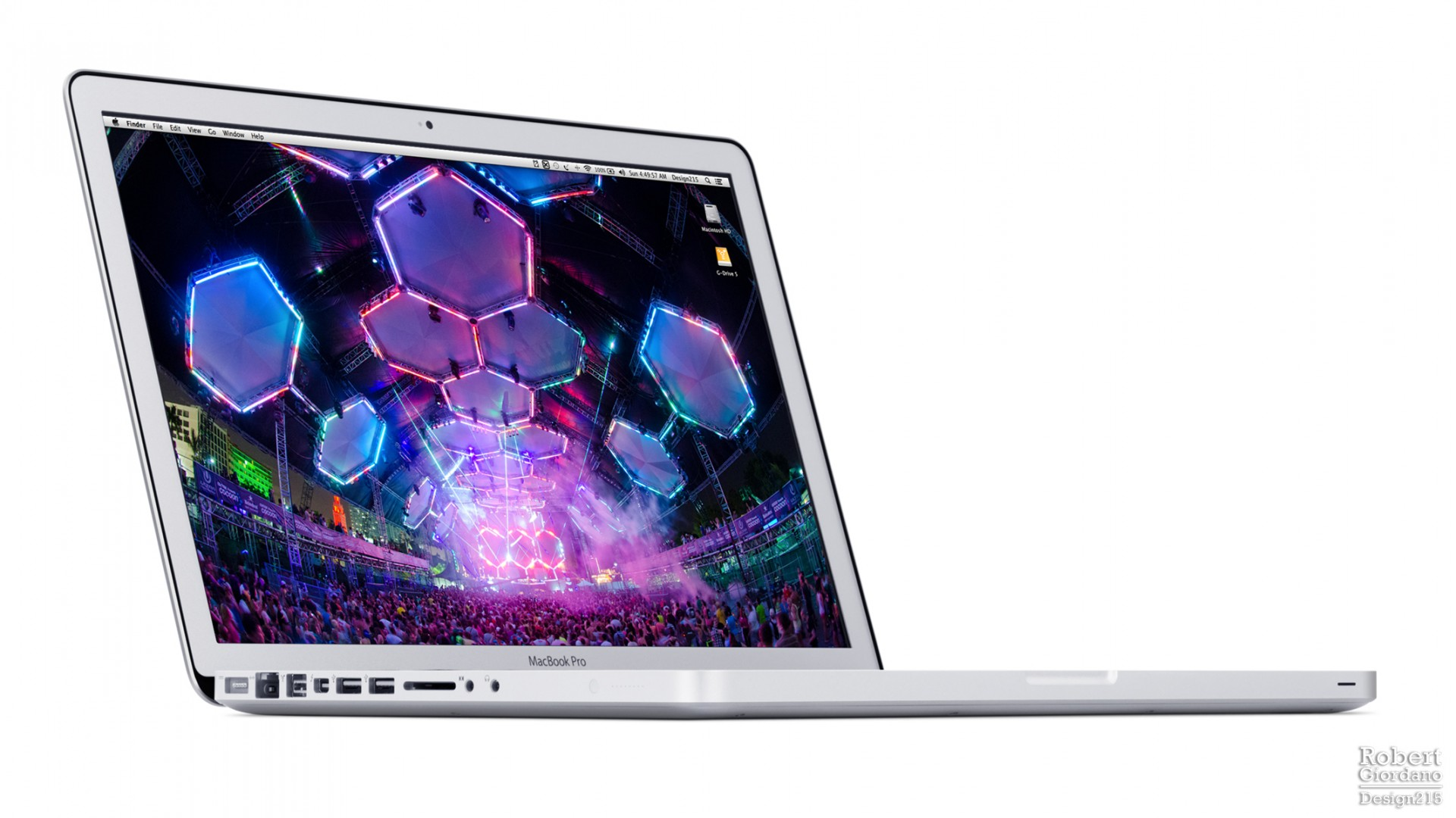 "Product Photography - Design215 15"" Macbook Pro, photo by Robert Giordano"
