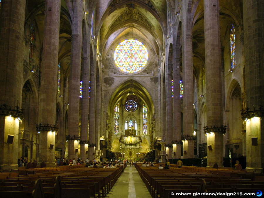 Palma Cathedral La Seu, Majorca - Travel Photography