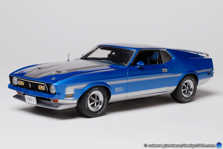 1971 Mustang Mach 1 - Product Photography