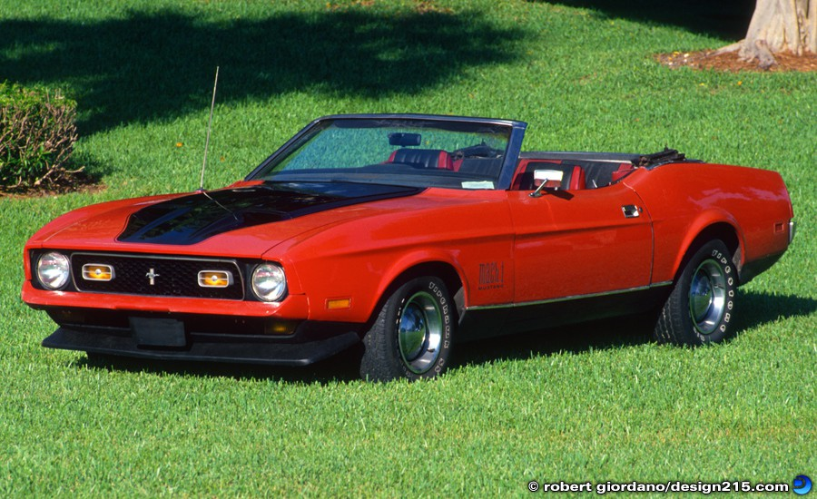 1972 Ford Mustang Convertible - Product Photography