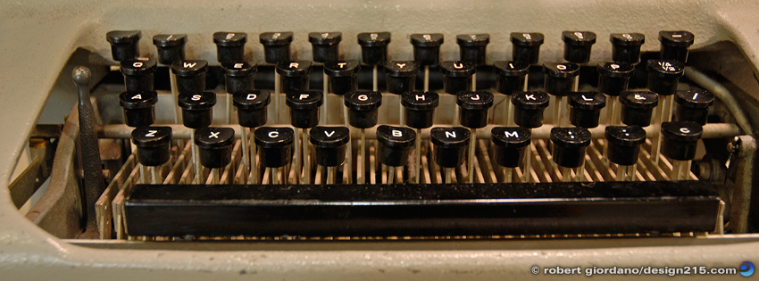 Free Facebook Cover Photos - Old Typewriter, photo by Robert Giordano