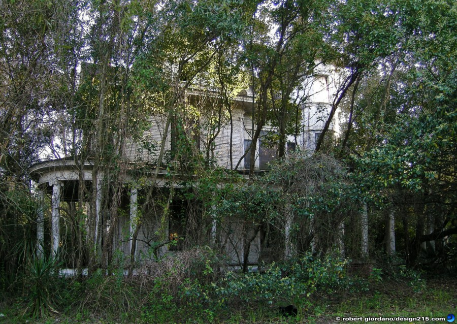 Miscellaneous - Creepy Old House in Gainesville, photo by Robert Giordano