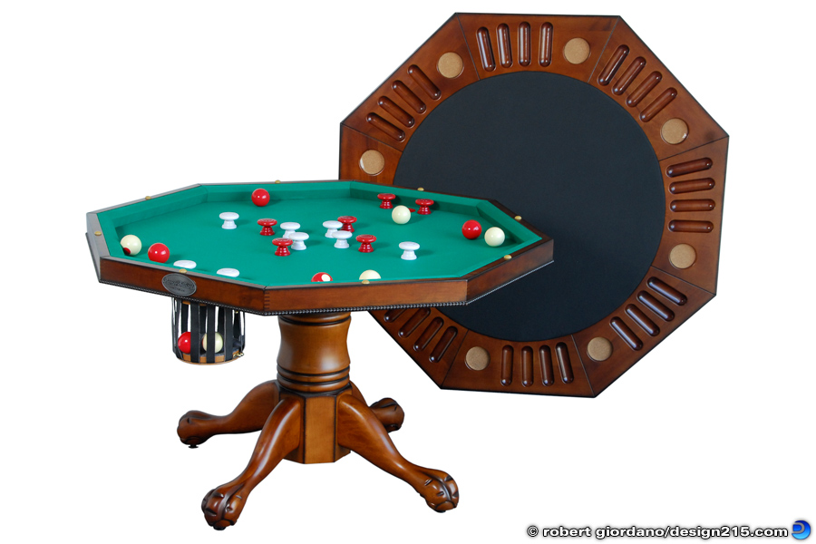 Berner Billiards 3 in 1 Table - Product Photography