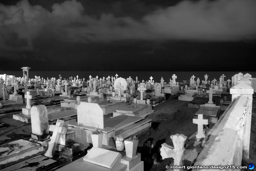 Travel Photography - Santa Maria Magdalena de Pazzis Cemetery, photo by Robert Giordano