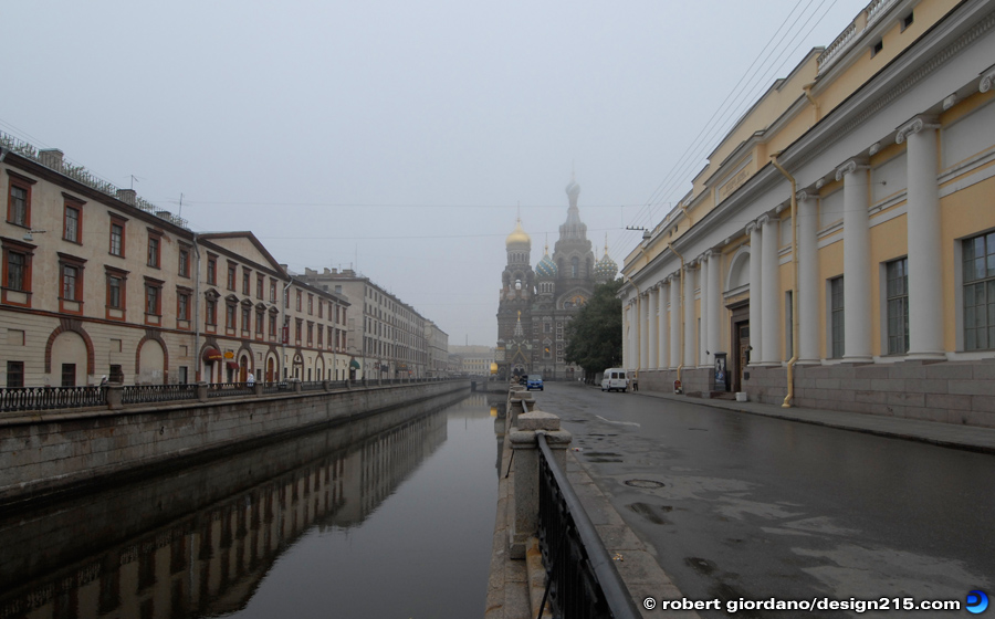 St. Petersburg, Early Morning - Travel Photography