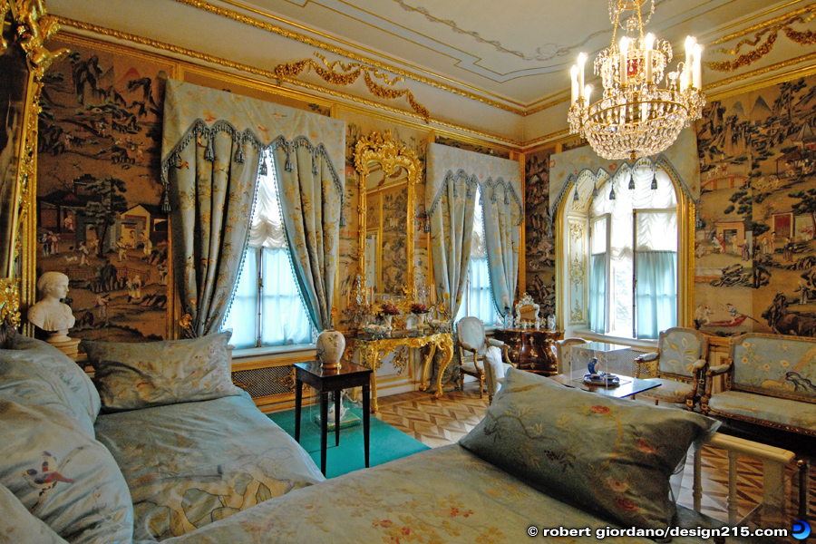 Travel Photography - Peterhof Grand Palace, Bedroom, photo by Robert Giordano
