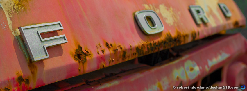 Free Facebook Cover Photos - Old Rusty Ford, photo by Robert Giordano