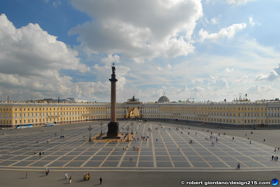 Travel Photography - Palace Square, St. Petersburg, photo by Robert Giordano