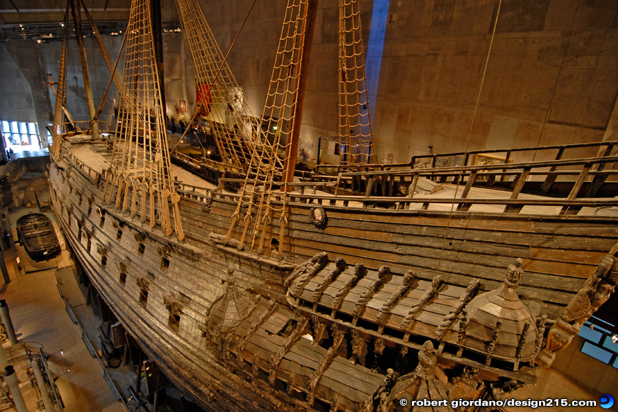 Travel Photography - Vasa Museum, Stockholm, photo by Robert Giordano