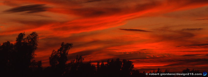 Free Facebook Cover Photos - Painted Sunset, photo by Robert Giordano