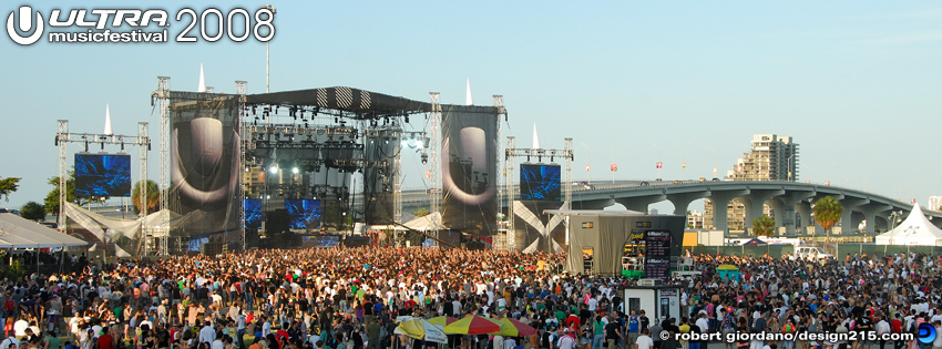 2008 Ultra Music Festival - Facebook Cover Photos