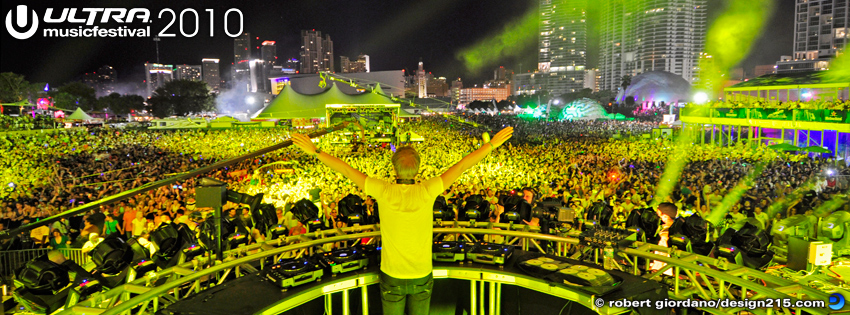 2010 Ultra Music Festival - Armin - Facebook Cover Photos