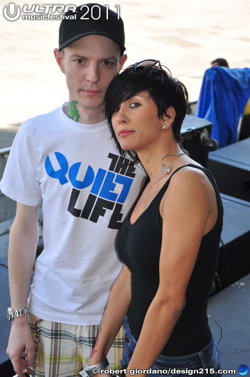 2011 Ultra Music Festival - Deadmau5 and SOFI, photo by Robert Giordano