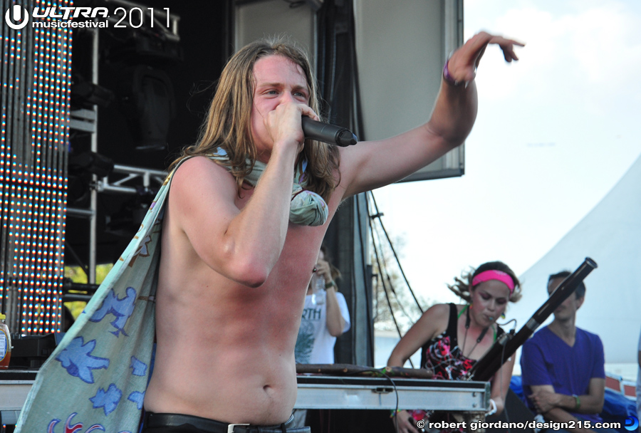 2011 Ultra Music Festival - Telekinetic Walrus, UMF Radio Stage #0883, photo by Robert Giordano