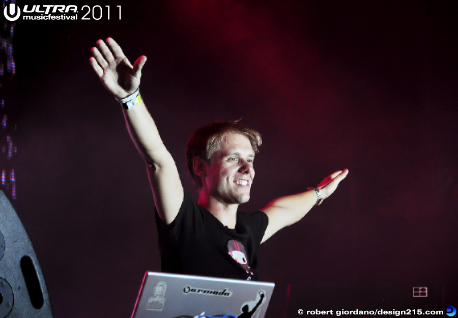 2011 Ultra Music Festival - Armin Van Buuren, Main Stage #0972, photo by Robert Giordano