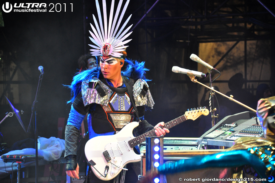 2011 Ultra Music Festival - Empire of the Sun, Live Stage #1136, photo by Robert Giordano