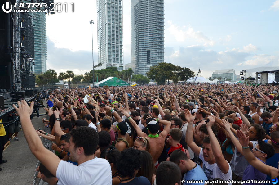 Benny Benassi, Main Stage #1169 - 2011 Ultra Music Festival