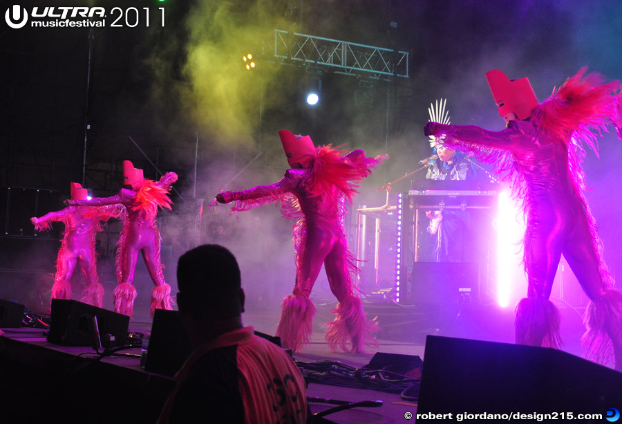 Empire of the Sun, Live Stage #1207 - 2011 Ultra Music Festival