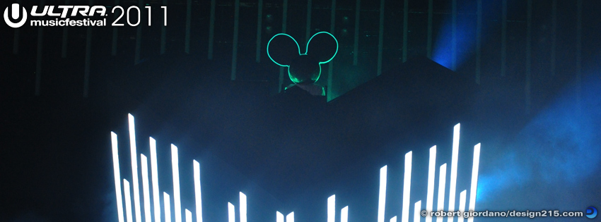 Free Facebook Cover Photos - 2011 Ultra Music Festival - Deadmaus, photo by Robert Giordano