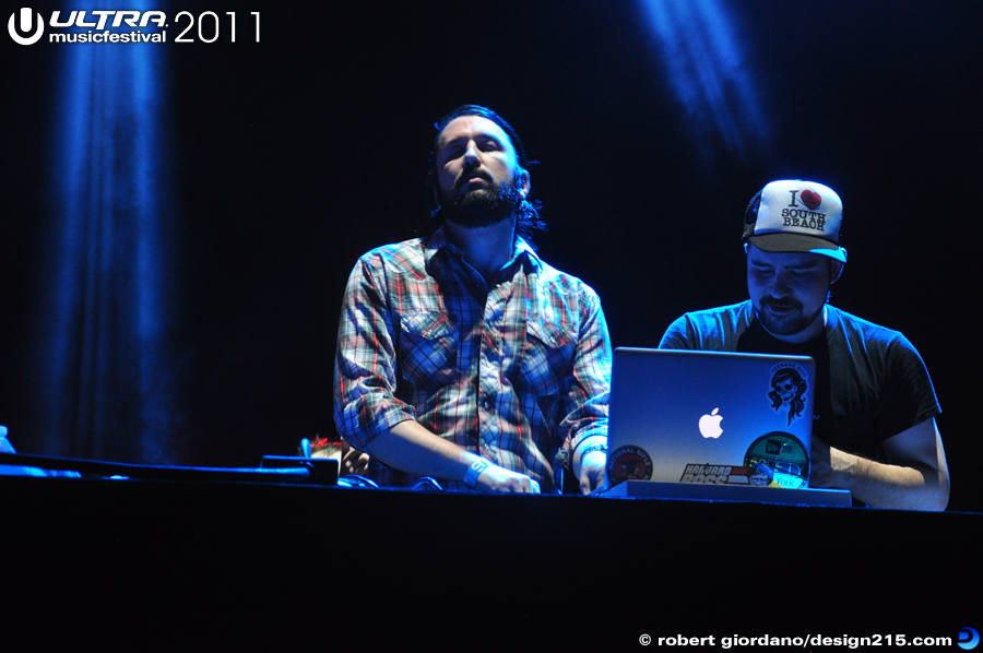 2011 Ultra Music Festival - MSTRKRFT, Live Stage #2052, photo by Robert Giordano