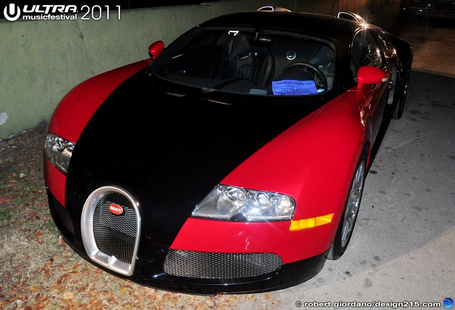 2011 ultra music festival flo rida 39 s bugatti veyron day. Black Bedroom Furniture Sets. Home Design Ideas