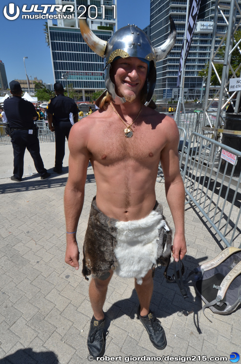 Son of Techno Viking at Ultra - 2011 Ultra Music Festival