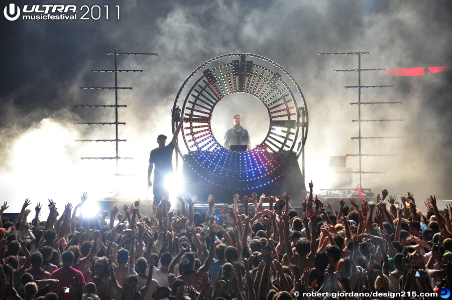 2011 Ultra Music Festival - Subfocus, Live Stage #2070, photo by Robert Giordano