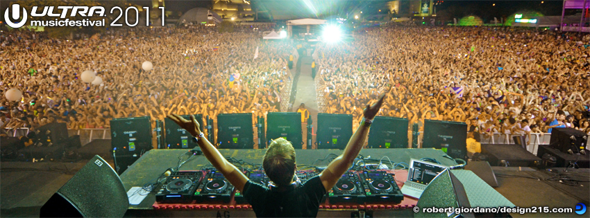 2011 Ultra Music Festival - Armin - Facebook Cover Photos