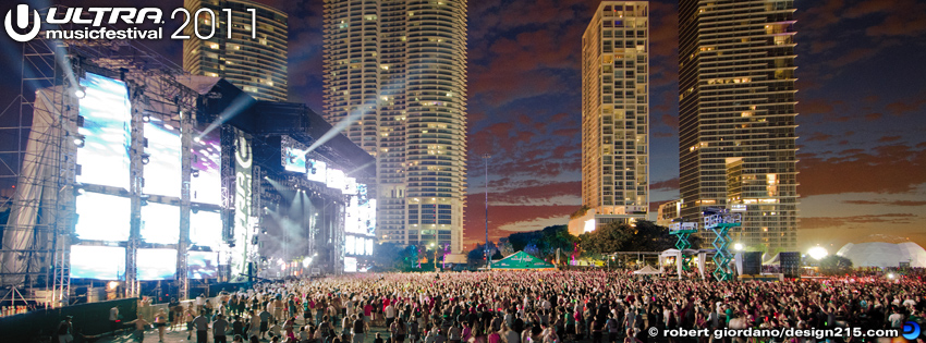 2011 Ultra Music Festival - Facebook Cover Photos