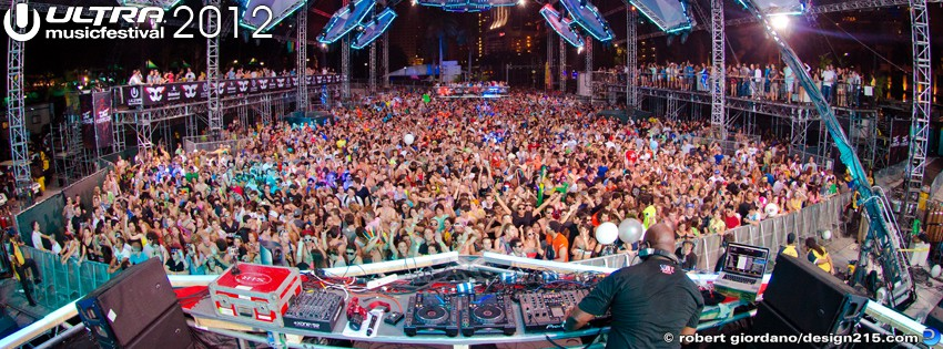 2012 Ultra Music Festival - Carl Cox - Facebook Cover Photos