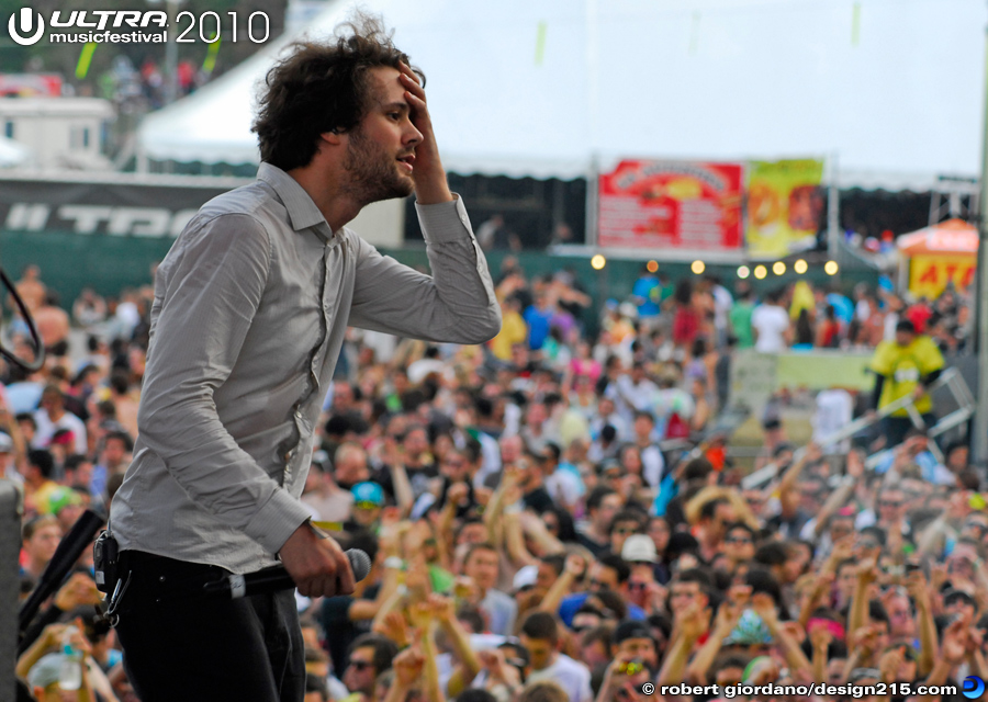 2010 Ultra Music Festival - Passion Pit, Main Stage, Day 1 #2335, photo by Robert Giordano