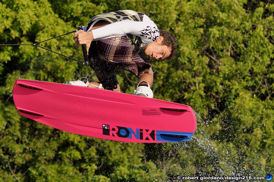 Action Photography - Wakeboarding with Eddie Meyers, photo by Robert Giordano