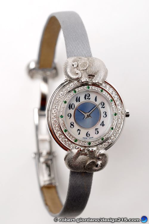Product Photography - Diamond Wristwatch, photo by Robert Giordano