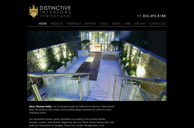 Web Design Portfolio - DistinctiveInt.com